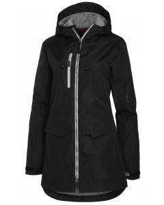 Womens long shell jacket MH-496