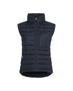 Women's recycle light quilted vest MH-573